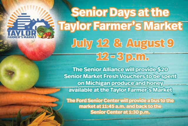 Farmers Market Senior Day