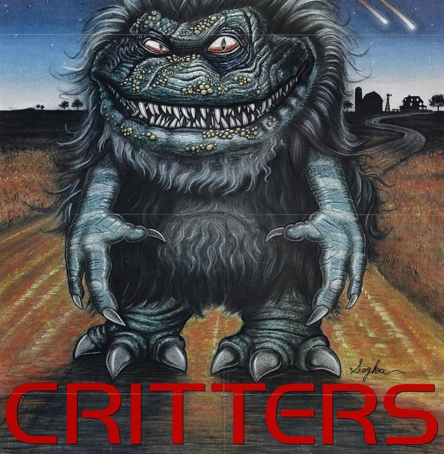 "Movie poster for the film ""Critters"""