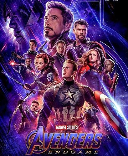 "Movie poster for ""Avengers End Game"""