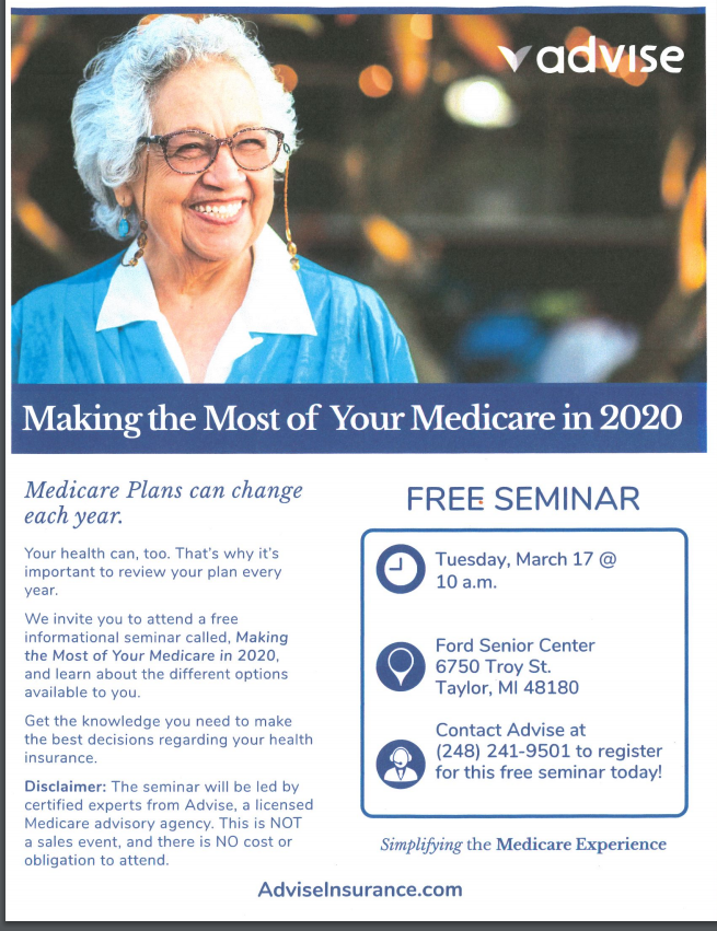Making the Most of Your Medicare in 2020