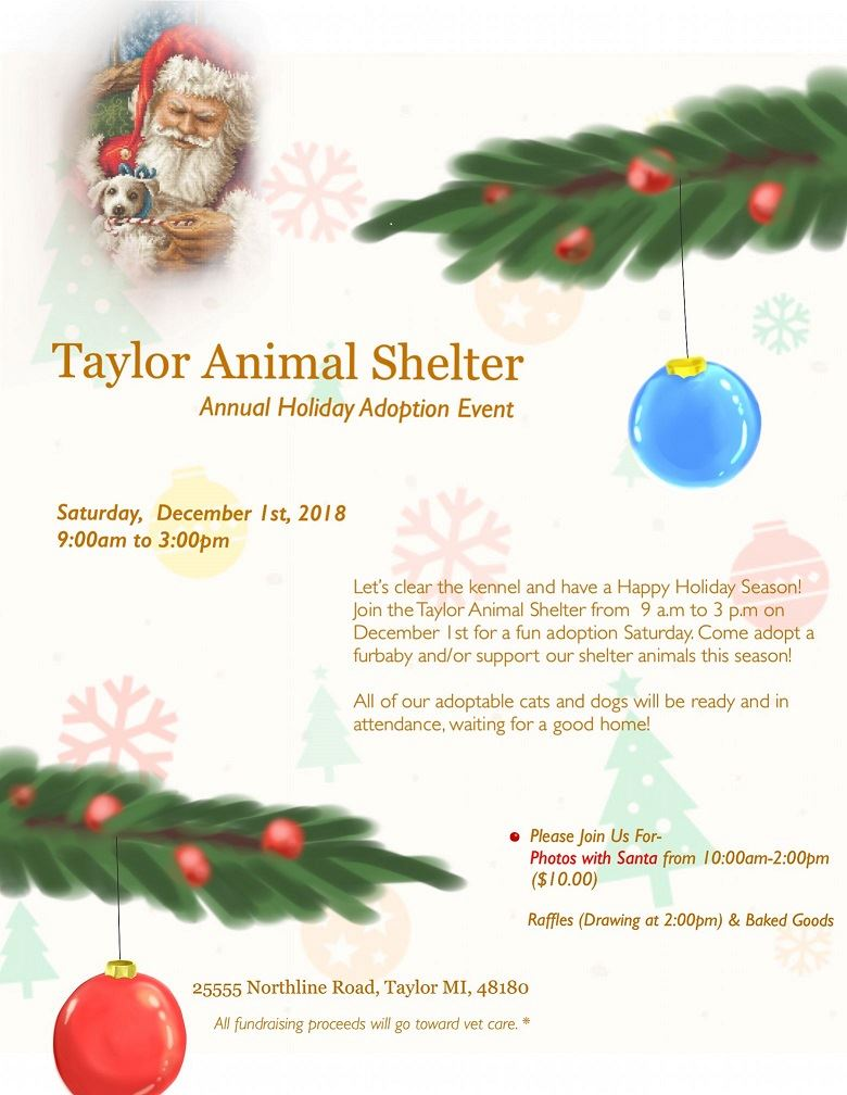 ANIMAL SHELTER HOLIDAY ADOPTION