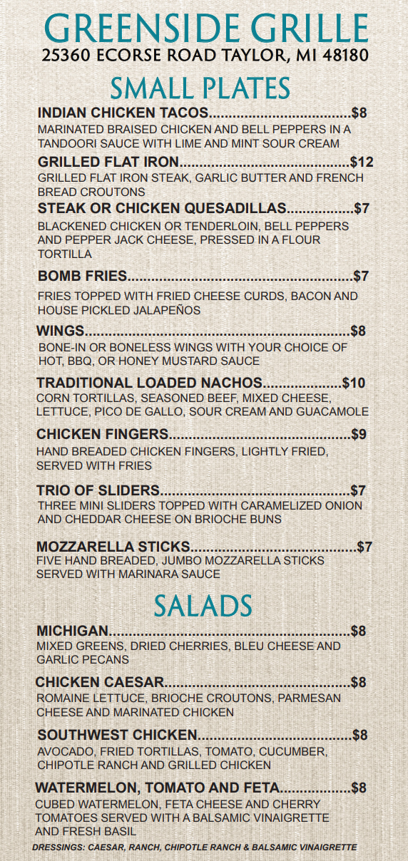 Meadows Greenside Grille menu.PNG