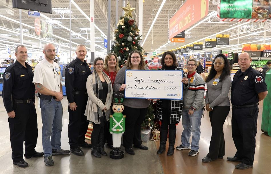 WALMART GOOD FELLOWS DONATE