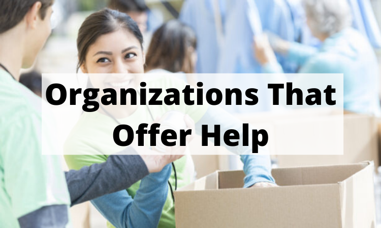 Organizations that offer help