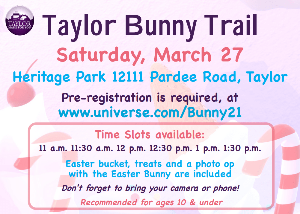 Candy Themed Bunny Trail