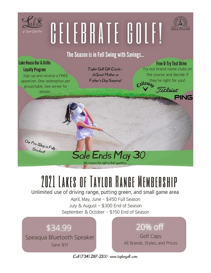 CELEBRATE GOLF MAY 2021